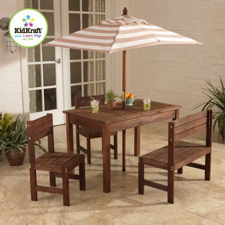 kidkraft outdoor table and chair set kidkraft outdoor patio table and chair set oatmeal and