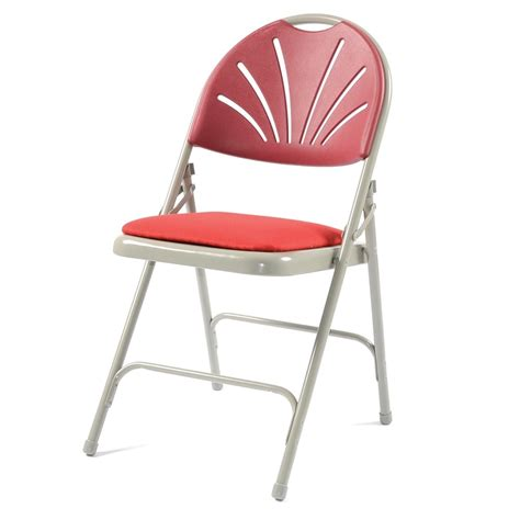 Back Comfort Chairs by 4 X Folding Chairs With Comfort Back From Parrs