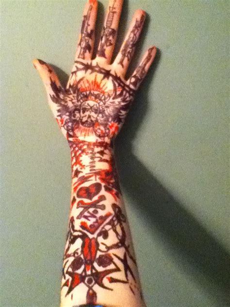 meh sharpie tattoo by shaddowinthecorner on deviantart