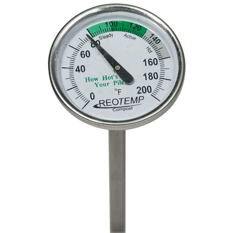 Kompos Termometer reotemp compost thermometer 20 quot