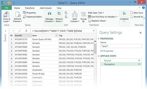membuat query excel mulai menggunakan power query excel