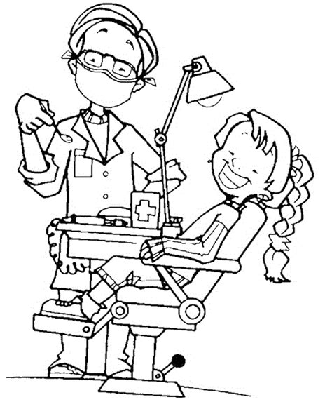 dentist coloring sheets to print it s coloring