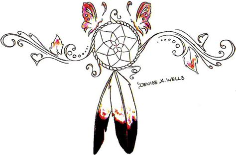 best tattoo area dreamcatcher tattoos