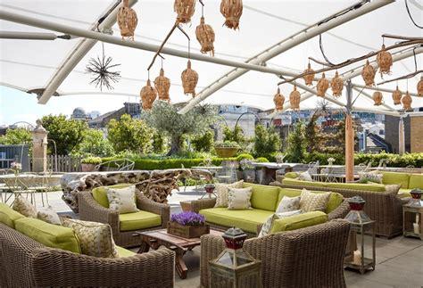 the backyard w hotel firmdale hotels roof terrace