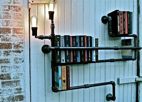 Industrial Floor L Bookshelf By Stella Bleu Designs by Vh Cool Bookshelves From Stella Bleu Designs