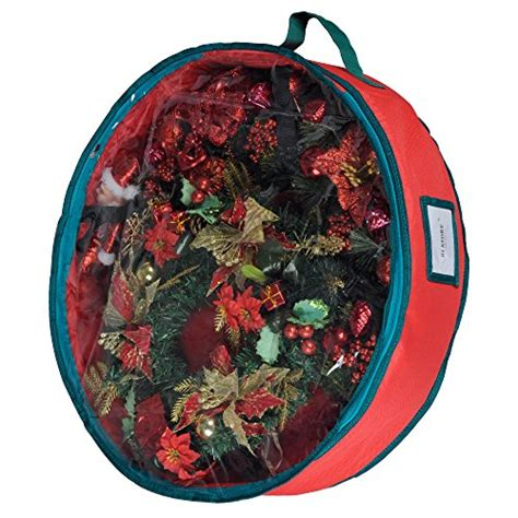 32 Inch Wreath Storage Container by Wreath Storage Container Bag With Clear Lid Ki Store 30