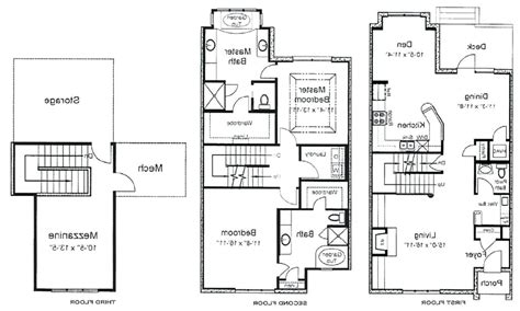 3 Story House Plan by Terrific 3 Story House Floor Plans Ideas Best