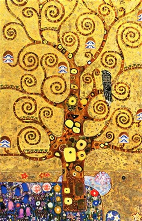 tree of life gustav klimt popartuk
