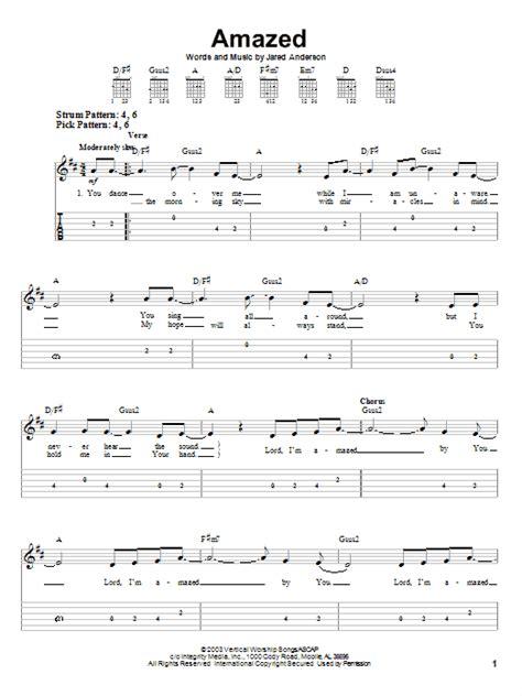 Amazed Guitar Chords