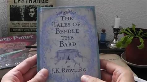 b01ejm87bs les contes de beedle le 4 d 233 ballage du livre quot the tales of beedle the bard quot les