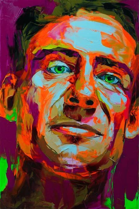 colorful portraits explosive colorful portraits paintings figurative