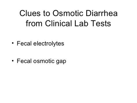 Stool Tests For Diarrhea by 01 26 12 Diarrhea And Malabsorption