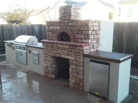 outdoor kitchen oven outdoor pizza ovens smokers unlimited outdoor kitchens