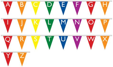 printable bunting letters 7 best images of printable alphabet bunting free