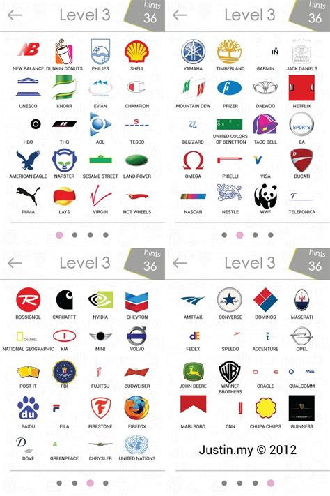 android answers 8 best images about logo quiz cheats on level 3 logos and android