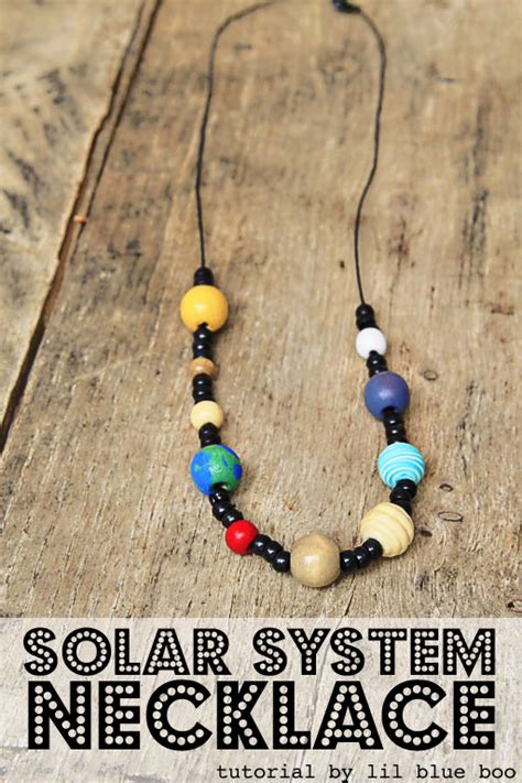 solar system crafts for space craft for solar system necklace