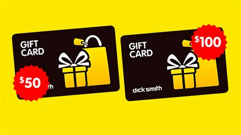 Digital Gift Cards Australia - lunchtime deals 7 5 off 50 and 100 dick smith digital gift cards gizmodo australia