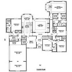 Big Floor Plans 3105 Square 5 Bedrooms 4 Batrooms 3 Parking Space On 1 Levels House Plan 9560 All