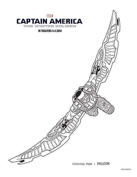 avengers coloring pages falcon free coloring pages of falcon super hero