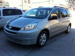 Toyota Used Cars On Sale Used 2004 Toyota Minivan 8 390 00