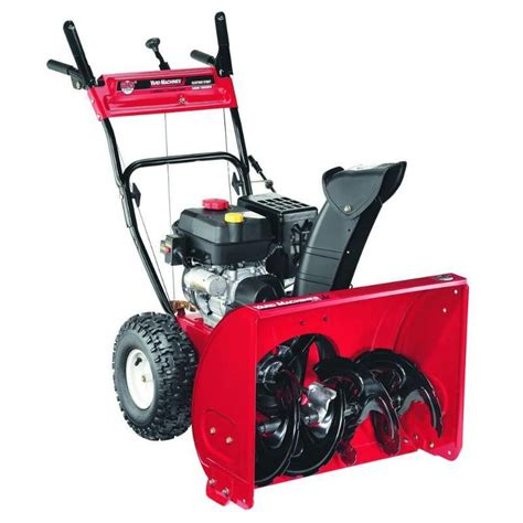 yard machines 26 in 208cc 2 stage gas snow blower model