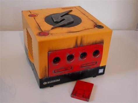 gamecube console nintendo gamecube custom console metroid samus edition