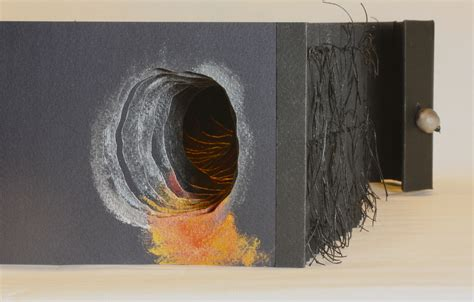 the tunnel picture book exploring tunnel books bookbinding workshop volcano