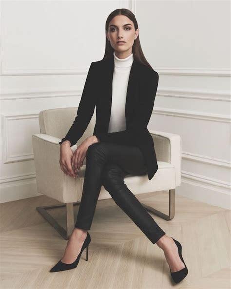 business outfit fuer damen auftritt mit eleganz und schick