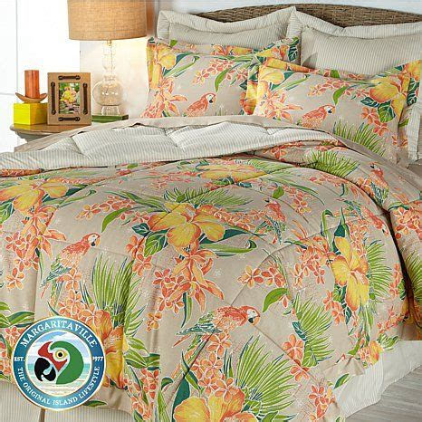 Hibiscus Bedding Sets Margaritaville Hibiscus Floral 6 Comforter Set My Style Hibiscus Floral