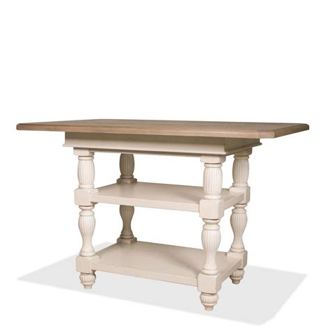 Height Of Dining Tables Riverside Dining Room Counter Height Dining Table 32554