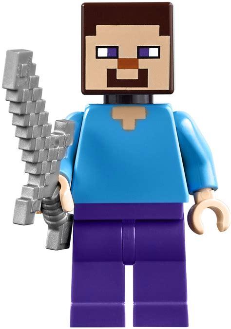 Minecraft Lego Minifigure Steve lego minecraft steve minifigure www imgkid the