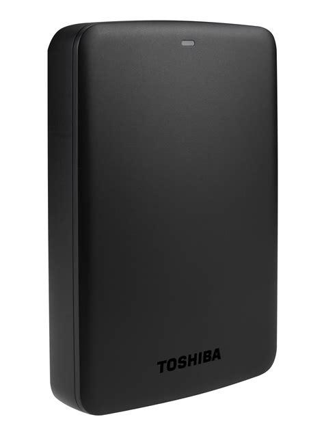 Hardisk Toshiba toshiba canvio basics 2tb 2000gb black external drive external hdd drives hdd drives