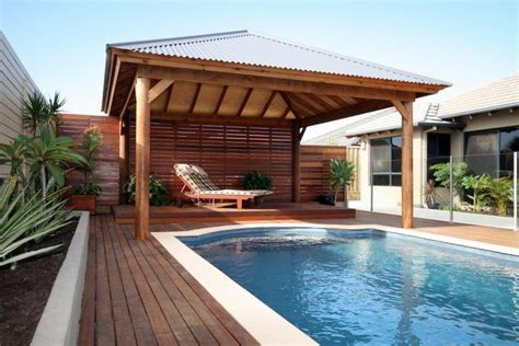 pool cabana pools pool house cabana pinterest covered patios backyards and outdoor