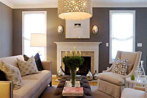 gray and ivory living room living rooms gray purple walls linen bernhardt sofa nailhead trim ivory hickory chairs gray