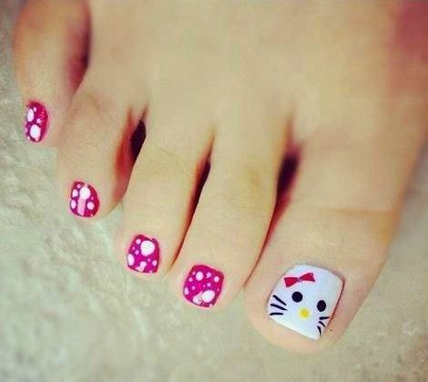 imagenes de uñas pintadas sencillas de los pies decoracion de u 241 as para pies decoracion de u 241 as