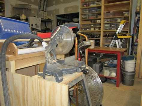 Workshop Projects Miter Saw Dust Adapter