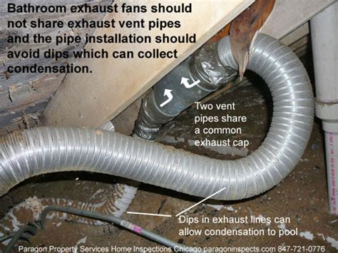 bathroom ventilation code can bathroom exhaust and dryer share same outside duct