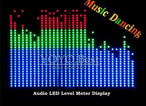 Led Vu Display popular led audio meter buy cheap led audio meter lots