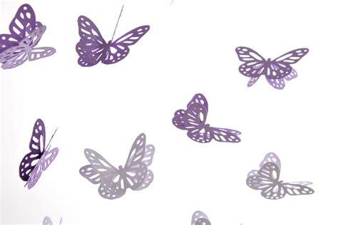 imagenes de mariposas lilas hecho a mano decoraire