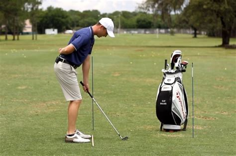 rotary golf swing drills fix your chicken wing for more consistency and distance
