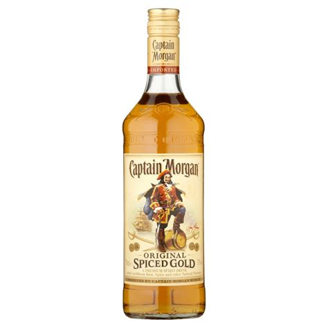 buy captain captain spiced gold rum 70cl buy cheap price