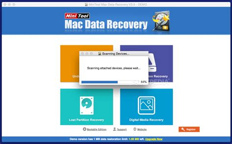 minitool mac data recovery 3 0