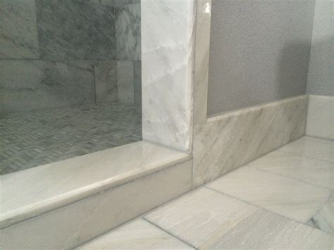 tile baseboard bathroom tile installation