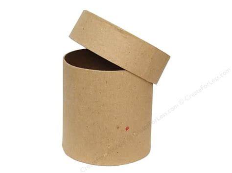 Craft Paper Boxes - paper mache box 4 in by craft pedlars 12