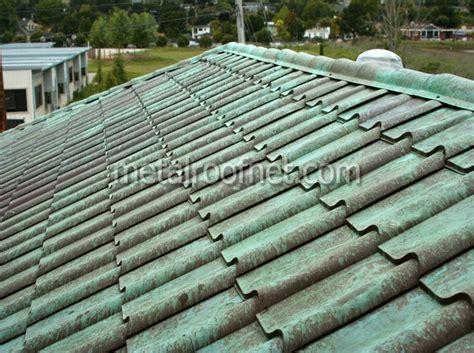 Metal Roof Tiles Copper Roof Tile Photo Gallery Metal Roof Network