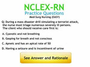 med surg nursing practice questions with answers and