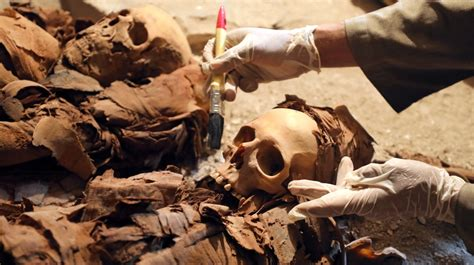 egypt announces discovery   year  luxor tomb