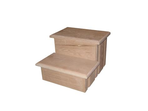 Unfinished Pine Step Stool by Unfinished Wooden Step Stools For Thesteppingstool