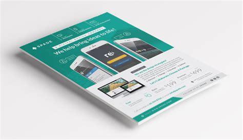 flyer design on behance design services flyer poster template web app graphic on