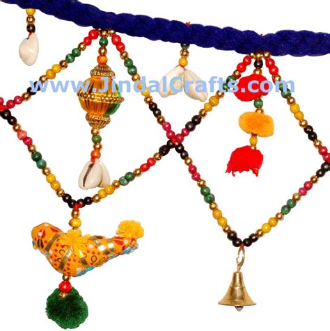 Hanging Decorations For Home toran handmade home door decoration hanging from india